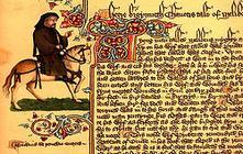 Старинный документ на английском